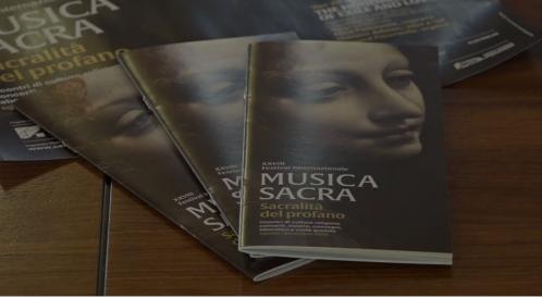 Francesco Maria Perrotta di ItaliaFestival saluta il Festival Internazionale Musica Sacra (PN)